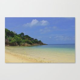 Koh Phangan Thailand Beach Canvas Print