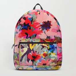 Little Peachy Poppies Backpack