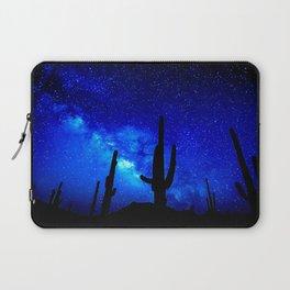 The Milky Way Blue Laptop Sleeve
