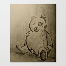 Broken Toy Canvas Print