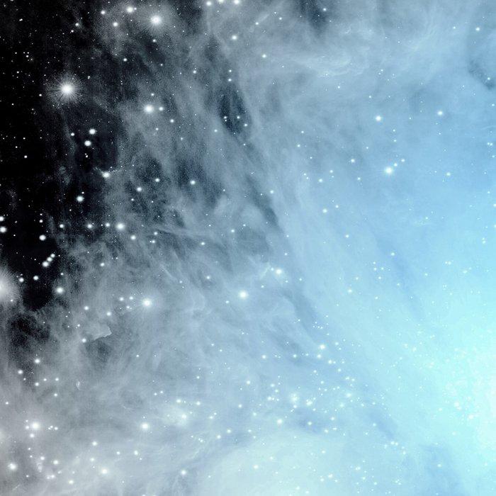 Orion nebULa Black White Blue Space Leggings