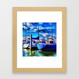 Elan Sailboat Framed Art Print
