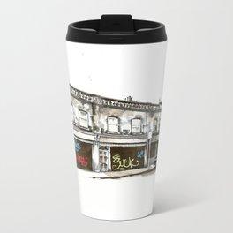 Shutters, Grantham Street, Dublin Metal Travel Mug