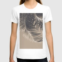 Palm Leaves Sepia Vibes #2 #tropical #decor #art #society6 T-shirt