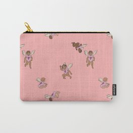 Cupid Legion Pattern- Pink Carry-All Pouch