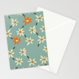 Daily pattern: Retro Flower No.11 Stationery Cards