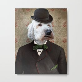 Sir Kansas - Wheaten Terrier Metal Print