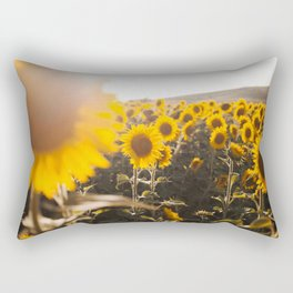 Sunflower's Season (III) Rectangular Pillow