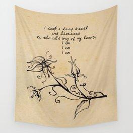 Sylvia Plath - I am Wall Tapestry