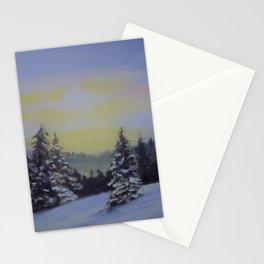 Winter Sunrise Stationery Cards