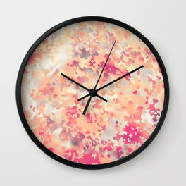 Acid Camouflage Wall Clock