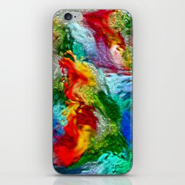 Magic Carpet Ride Abstract iPhone Skin