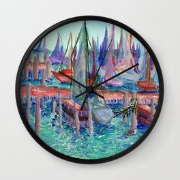 Chicago Pier | 2004 Wall Clock
