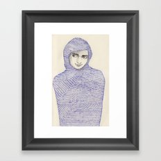 Abaya 01 Framed Art Print