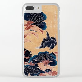 japanese flowers Clear iPhone Case