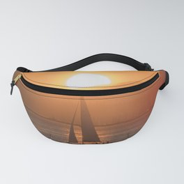 Sail under the Sun Salish Sea Fanny Pack