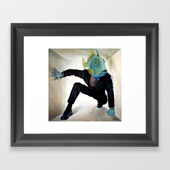 Superfish Framed Art Print
