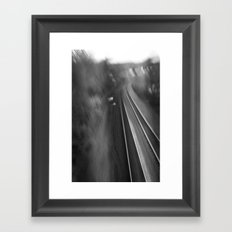 Rails Framed Art Print