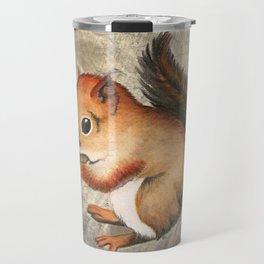 Sciurus (Baby Squirrel) Travel Mug