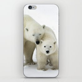 Mother and Cub iPhone Skin