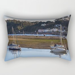 Shaldon at Low Tide Rectangular Pillow