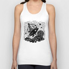 Out of this world Unisex Tank Top