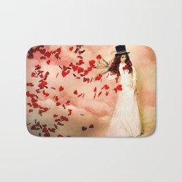 Love Bleed Bath Mat
