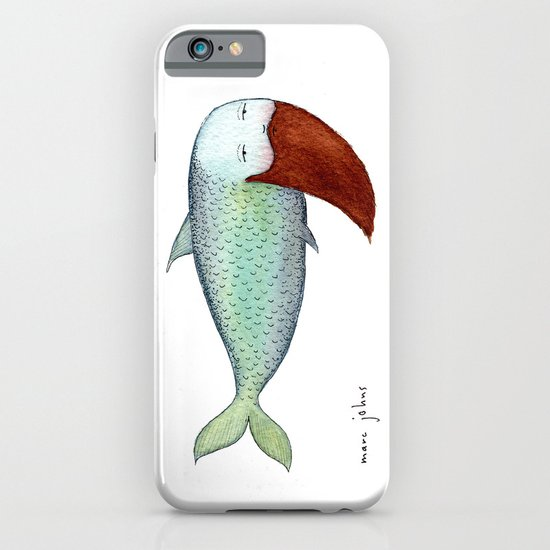 fish with beard iPhone & iPod Case