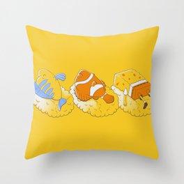 Feeling like sushi :) Throw Pillow
