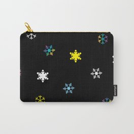 Snowflakes_C Carry-All Pouch