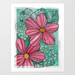 pink2 Art Print