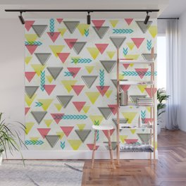 Wild Triangles Wall Mural