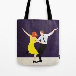 La La Land Alternative Minimalist Film Poster Tote Bag
