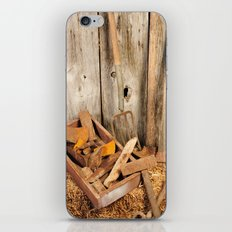 Rusted tools iPhone & iPod Skin