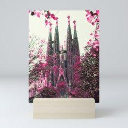 Basilica of the Sagrada Família III Mini Art Print