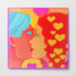 Forms Of Love MaleFeMale Metal Print