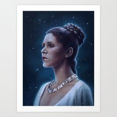 One With The Force Art Print