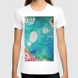 Environmental Series #5 Rare Octopus Marvels at the Ocean T-shirt