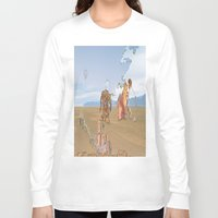 iceland Long Sleeve T-shirts featuring Iceland People by Jonas A.lexander David