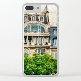 Paris Architecture Clear iPhone Case