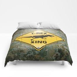 T-Rex Crossing Comforters