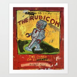 The Rubicom Art Print