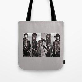 The Walking Dead - Rick Daryl Michonne Carl  Tote Bag