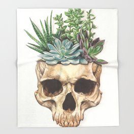 From Death Grows Life Throw Blanket
