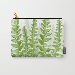 Green Fern Group Carry-All Pouch