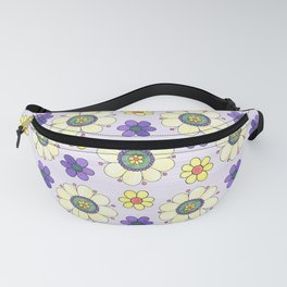Crazy Daisies Lavender Fanny Pack