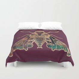 Sphinx Moth Duvet Cover