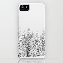 Zimska idila iPhone Case
