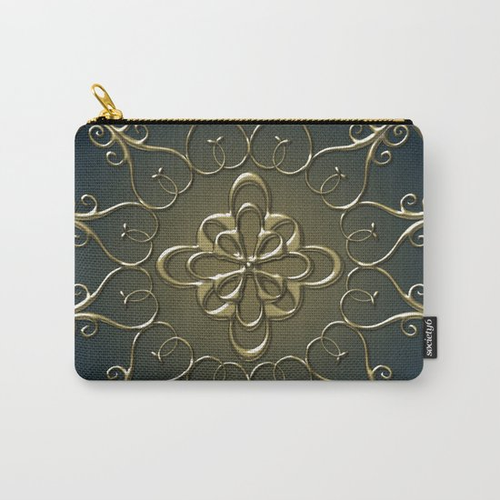 Golden Nemo Pattern Carry-All Pouch