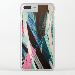 widow to the surf 102 Clear iPhone Case